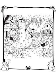 Kids N Fun Kleurplaat Kerstmis Disney Kerstmis Disney