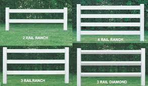 Vinyl Ranch Railing Post Rail Horse Fence Rail Fence Material