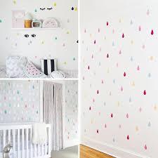 Small Raindrop Wall Sticker For Kids Room Baby Girl Room Wall Decor Ba Boo Bootik