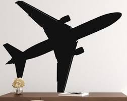 Airport Wall Decal Etsy