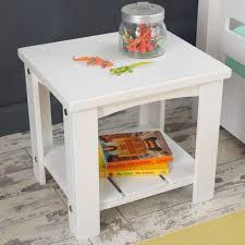 Addison Toddler Side Table White Toddler Table White Side Tables Furniture