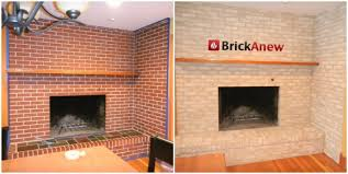 lovely update red brick fireplace