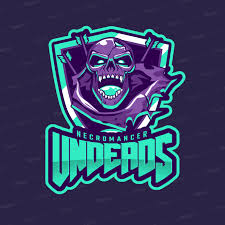 gaming logo maker for zombie gamers