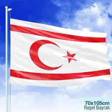 Kuzey Kıbrıs Türk Cumhuriyeti Bayrağı -Bayrak -70x105 cm Fiyatı ve  Özellikleri - GittiGidiyor