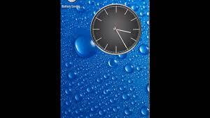 battery saving og clocks live