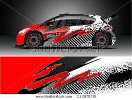 Car Decal Wrap Design Vector Graphic Abstract Stripe Racing Background Kit Designs For Wrap Vehicle Ra Car Sticker Design Racing Car Design Custom Cars Paint