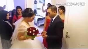 وداع عروس حزين جدآ مع اغنيه حاتم العراقي اليوم اخر يوم اليه وياكم