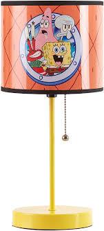 Amazon Com Nickelodeon Spongebob Kids Room Stick Table Lamp Toys Games