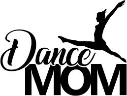 Amazon Com Dance Mom Sports Vinyl 6 Inch Decal Black Clothing