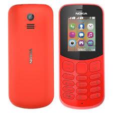 Nokia 130 Dual Sim-Red