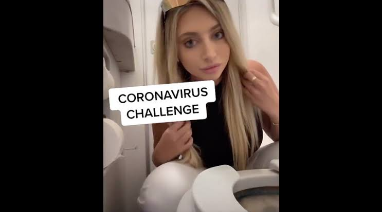 Viral, Video TikTok Coronavirus Challenge dari Gadis Miami Ini, Bikin Geleng Kepala