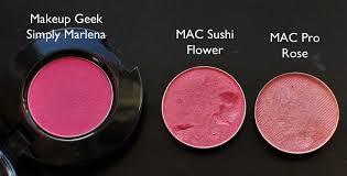 makeup geek simply marlena mac sushi