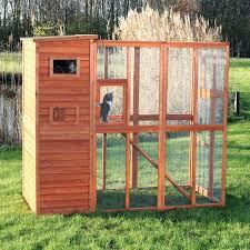 backyard cat enclosures cat enclosure