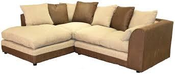 mfp soft cream brown fabric corner