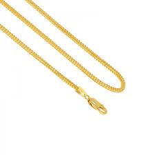 22k singapore fox gold chain 18