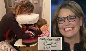 Savannah Guthrie reveals she's currently on the mend from major eye surgery