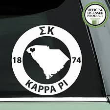 Sigma Kappa Decal Sorority State Brit And Bee