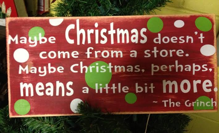 Image result for quotes on excess at Christmas""