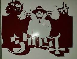 Ghost Band Cardinal Copia And Nameless Ghouls Die Cut Vinyl Decal Sticker Ebay