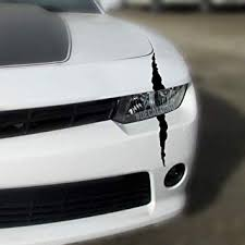 Amazon Com Decaldino Single Headlight Scar Kit Fits Many Car Makes And Models Purple Automotive