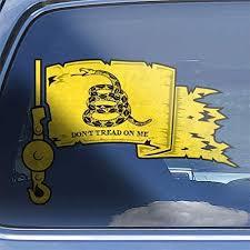 Amazon Com Crane Operator Gadsden Flag Lifting Hook Hardhat Car Window Decal Sticker Handmade