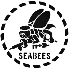 Military Navy Seabees Vinyl Decal Sticker