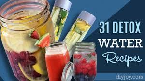 31 detox water recipes