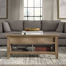 craftsman style coffee table wayfair