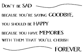 saying goodbye to family quotes quotesgram