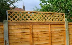 Postfix Trellis Fence Height Extension Metal Arms Pair For Sale Online Ebay