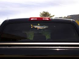 Lake Trout Decal Boat Truck Window Fish Sticker Fishindecals Fishindecals Com