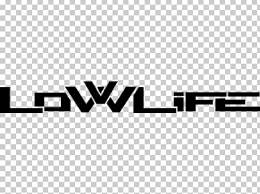Car Decal Sticker Low Life Logo Png Clipart Angle Area Black Black And White Brand Free