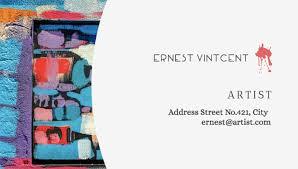 20 best artistic business card designs
