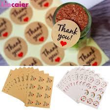 Lincaier 120 Piezas Gracias Feliz Cumpleanos Etiquetas Adhesivas