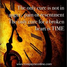 picture quote about heartbreak healing a broken heart