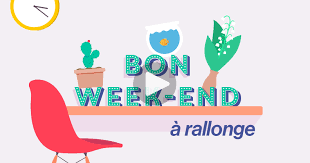 Ma carte - Bon week-end à rallonge