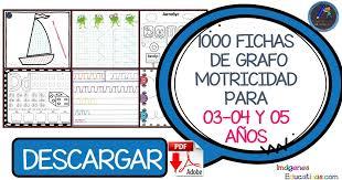 1000 FICHAS DE GRAFOMOTRICIDAD PARA 03-04 Y 05 AÑOS - Imagenes ...