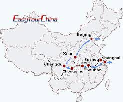 china train yangtze cruise tour