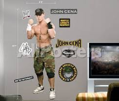 John Cena Fathead Wall Decal Allposters Com
