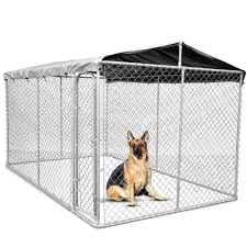 Antiques Portable Chain Link 7 5 X7 5 X4 Dog Boxed Kennel Outdoor Easy Assembly Pet Pen Rugs Carpets