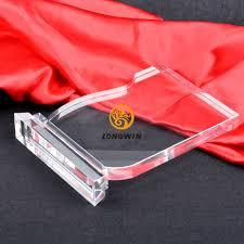 blank k9 cristal trophy awards
