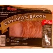 rose canadian bacon calories