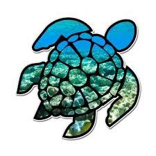 Sea Turtle Underwater Coral Reef Vinyl Sticker Waterproof Decal Sticker 5 Walmart Com Walmart Com