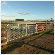 Quality Steel Iron Guardrail Privacy Garden Fence Farm Sliding Gate China Sliding Gate Cattle Horse Gate Made In China Com