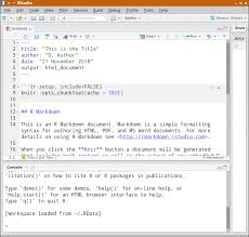 tutorial 17 5 rmarkdown and friends