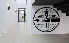 Vape Shop Decal Hookah Smoke Shop Decor E Cig Decor Signboard Etsy