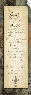 The Lord S Prayer Wall Decal Ebay
