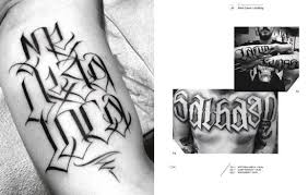 the graphic art of tattoo lettering a