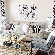 glam style living room interior design