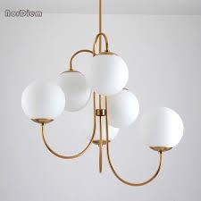 glass ball hanging pendant light lamp